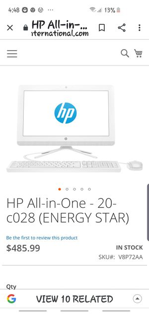 Hp all in one for Sale in Cleveland, OH