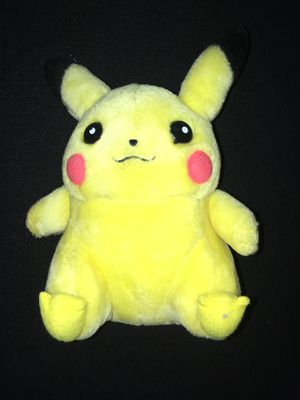 Pokémon Pikachu Basic Plush Nintendo 1998 for Sale in Snohomish, WA
