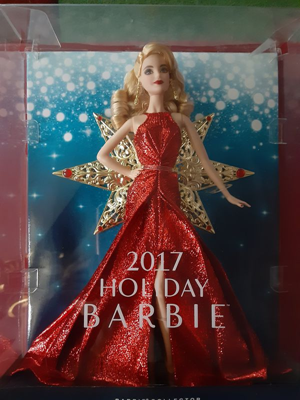2017 Holiday Barbie
