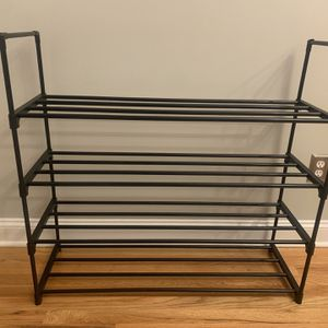 4-Tier Shoe Rack Stores 20-Pairs of Shoes for Sale in Norwalk, CT