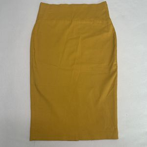 Mustard Business Skirt for Sale in Los Angeles, CA