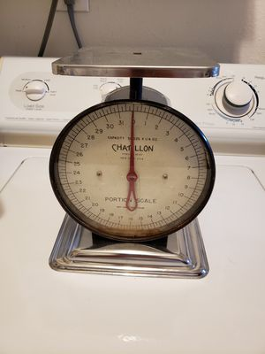 Antique Chatillon kitchen scale for Sale in Whittier, CA