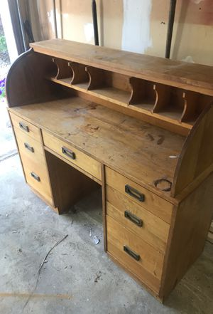 Solid Wood Secretary Desk for Sale in Cherry Hill, NJ