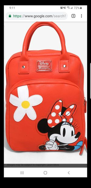 Disney minnie mouse back pack for Sale in Pico Rivera, CA