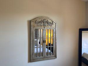 Antique Wooden Shutter Mirror for Sale in Irvine, CA