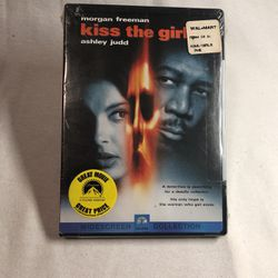 Morgan Freeman Ashley Judd Sealed/New Kiss The Girl DVD for Sale in Long Beach,  CA