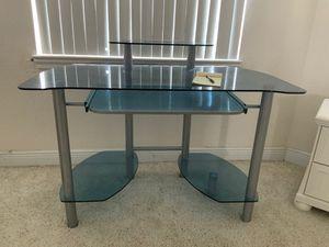 Glass Office Desk for Sale in Cape Coral, FL