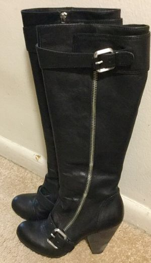 Vince Camuto leather boots for Sale in Denver, CO