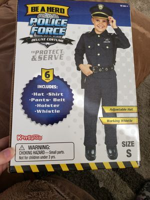 New Police costume size small for Sale in Sully Station, VA