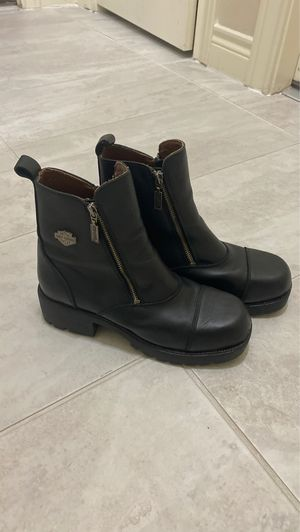 Harley Davidson Women's size 10 motorcycle boots for Sale in Houston, TX