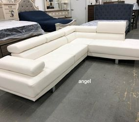 $39 Down Payment 💳Antares White Modern Sectional | U7101 112 for Sale in Silver Spring,  MD