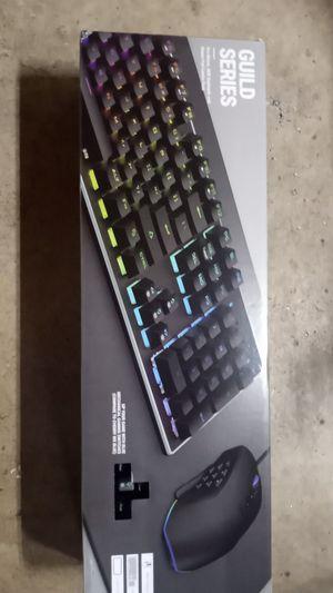 Guild seris Gaming keyboard combo kit for Sale in Stockton, CA
