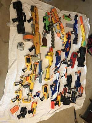 Huge Nerf Gun Collection for Sale in Sugar Land, TX