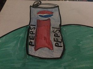 Pepsi can drawing for Sale in Lewes, DE
