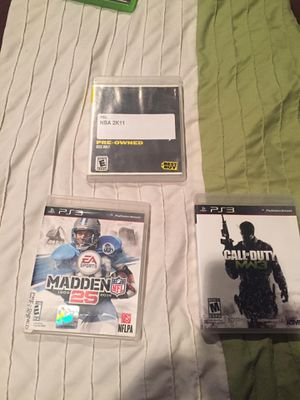 PS3 games for Sale in Santa Fe Springs, CA