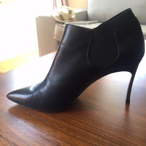 Casadei Designer stiletto boots black for Sale in Los Angeles, CA