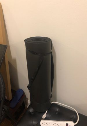 Black adult yoga mat for Sale in New York, NY