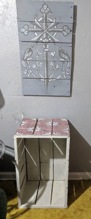 Decorative storage container for Sale in Lake Wales, FL