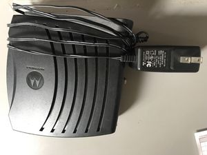 Motorola Surfboard Cable Modem for Sale in Gloucester City, NJ