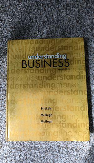 Understanding Business Tenth Edition for Sale in Wenatchee, WA