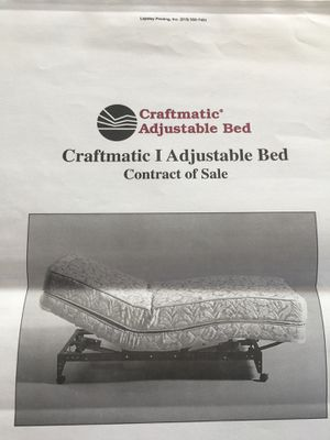 Craftmatic adjustable bed for Sale in San Diego, CA