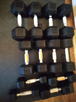New CAP dumbbells10-40, set or pairs for Sale in Fresno, CA