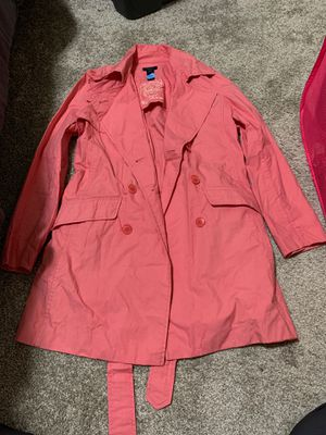 Gant short trench coat size M in like new condition, $90 obo for Sale in Graham, WA