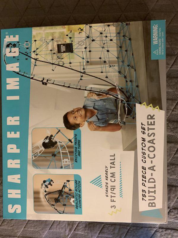 """Sharper Image """"Build a Coaster"""" Set"""