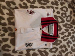 Men's Gucci Collar Shirt for Sale in Escondido, CA