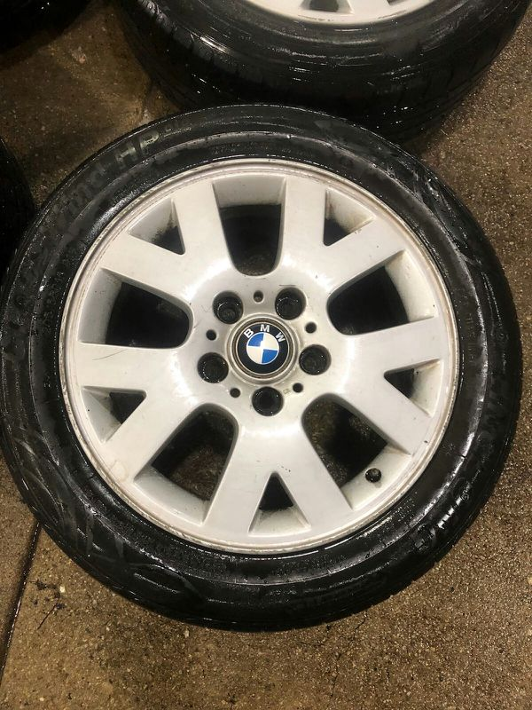 4 16 in 5x120 bmw wheels rims and tires
