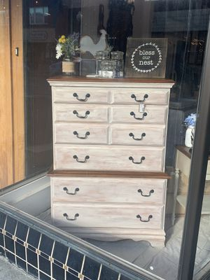 Tall Farmhouse dresser for Sale in Sumner, WA