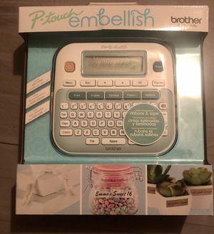 P-Touch Embellish Tape & Ribbon Printer for Sale in Sebring, FL
