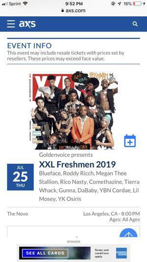 Xxl freshmen tour for Sale in Alhambra, CA