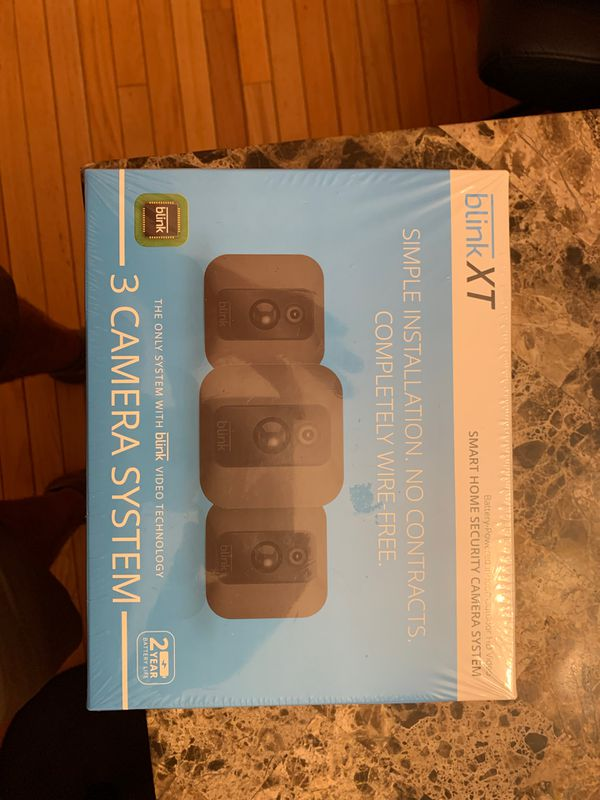 BlinkXT Smart Home Security Camera System