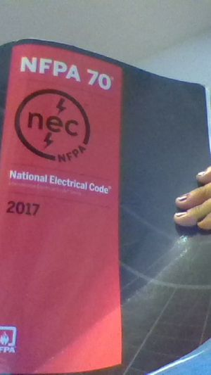 NFPA 70 2017 National Electrical code book for Sale in US