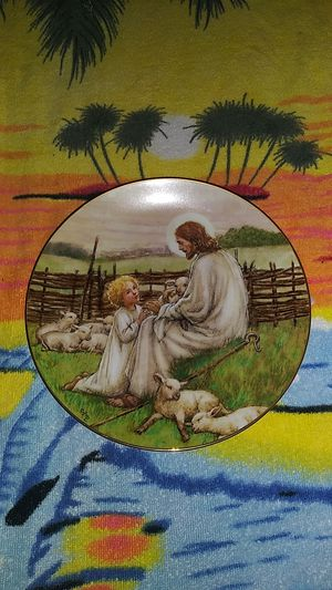 """1988 """"The Lord's My Shepard"""" Hallmark Plate by Cicely Mary Barker for Sale in El Cajon, CA"""