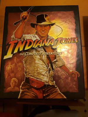 Indiana Jones Blu-ray set for Sale in San Jose, CA