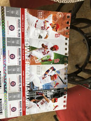 Cardinals tickets for today 200 for Sale in Lake Saint Louis, MO