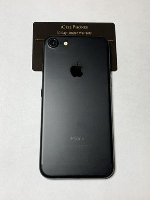 Unlocked iPhone 7 128GB Black for Sale in San Jose, CA