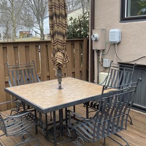 Wrought Iron Patio Set for Sale in Columbia, MD