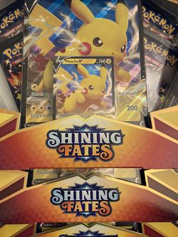Shining fates Pikachu V Box for Sale in Clifton,  VA