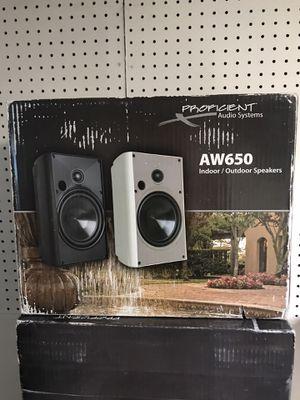 Indoor/Outdoor Pair of Speakers x 2 for Sale in Scottsdale, AZ