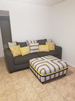 Sofa and ottoman for Sale in Kissimmee, FL