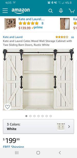 Antique looking storage cabinet never been open. for Sale in Kearney, NE
