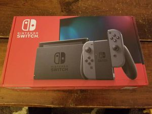 Brand New Nintendo Switch Video Game Console for Sale in Nevis, MN