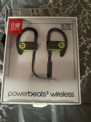 Beats Headphones Powerbeats3 wireless for Sale in Boynton Beach, FL