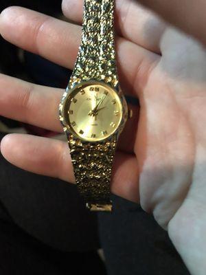 jordache quartz 14k gold watch for Sale in Goshen, IN