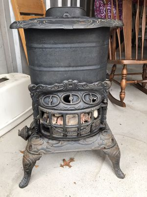 Eriez No 14 antique parlor stove for Sale in Massillon, OH
