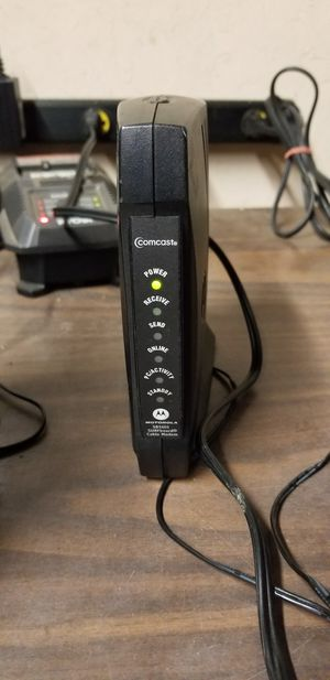 Modem motorola for Sale in Sanger, CA