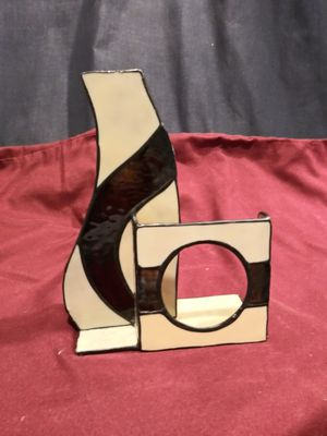 Stained glass vase/picture frame for Sale in Vancouver, WA